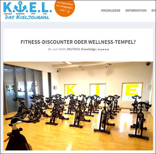 Kieljournal-Webseite mit KIELS City Fotos